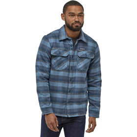 Patagonia Insulated Fjord Flannel Jacket Herre observer/woolly blue